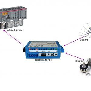 Bộ chuyển tín hiệu ohm ra 4-20mA