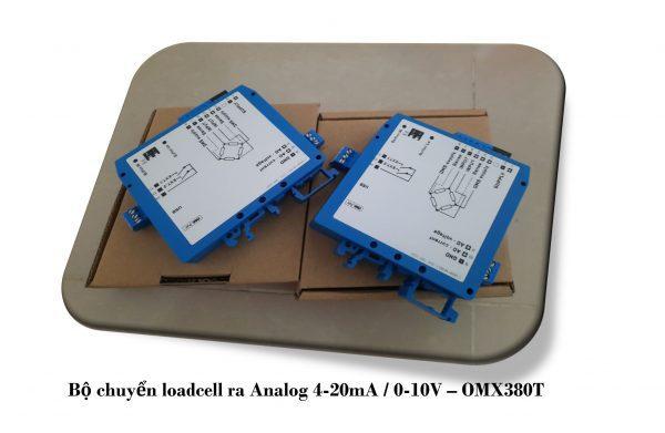Bộ chuyển tín hiệu loadcell OMX380T