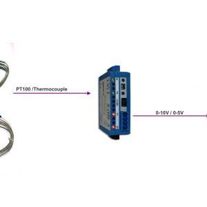 Bộ chuyển tín hiệu RTD PT100