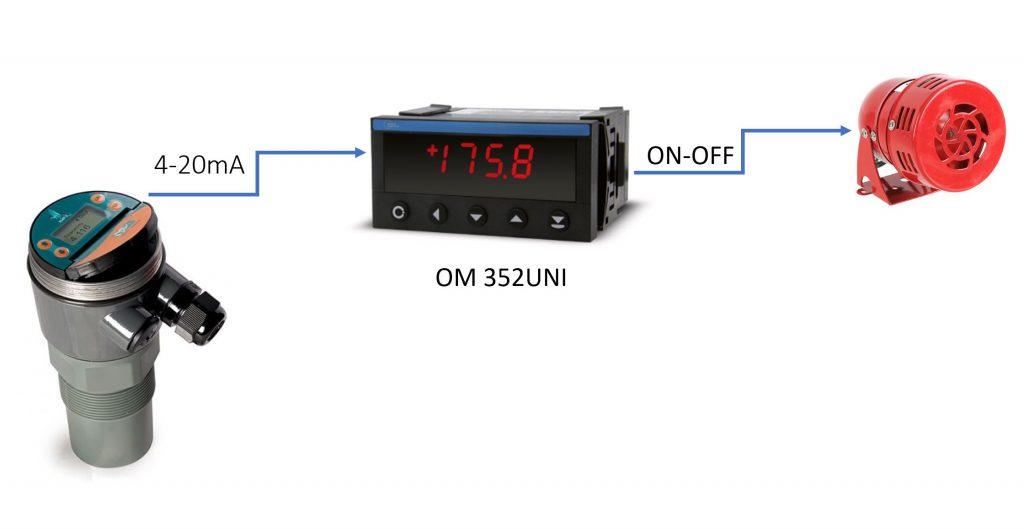 Bộ điều khiển mực nước OM352UNI