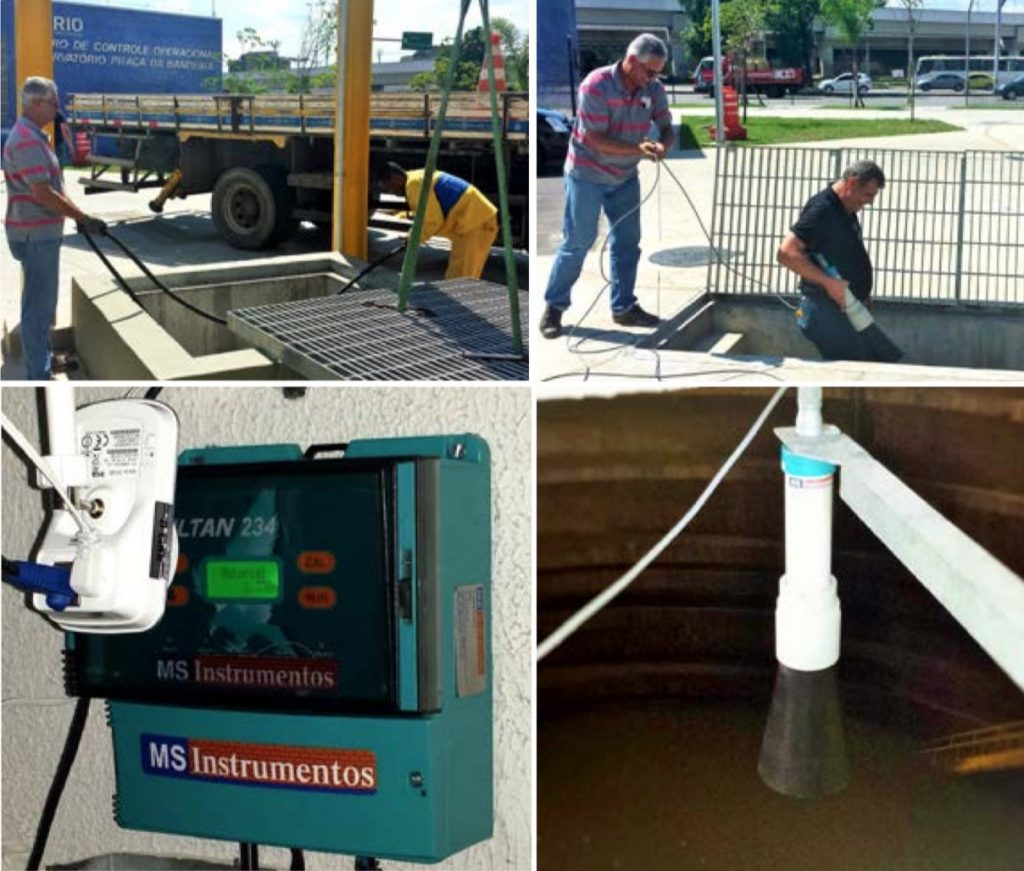Cảm biến đo nước ngầm và nước thải