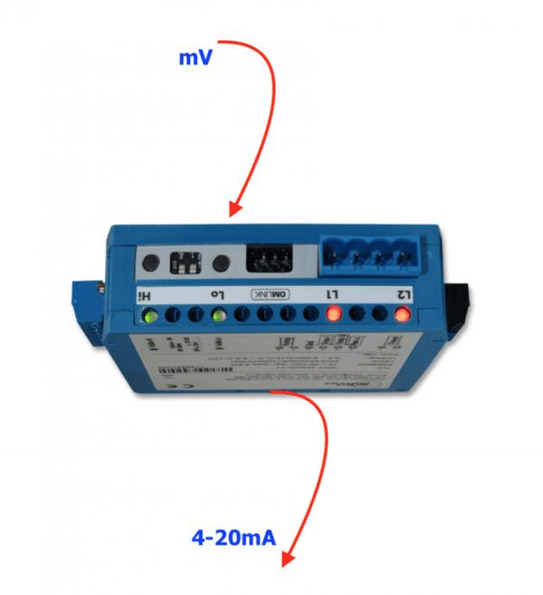 Ứng dụng bộ chuyển mv sang 4-20mA