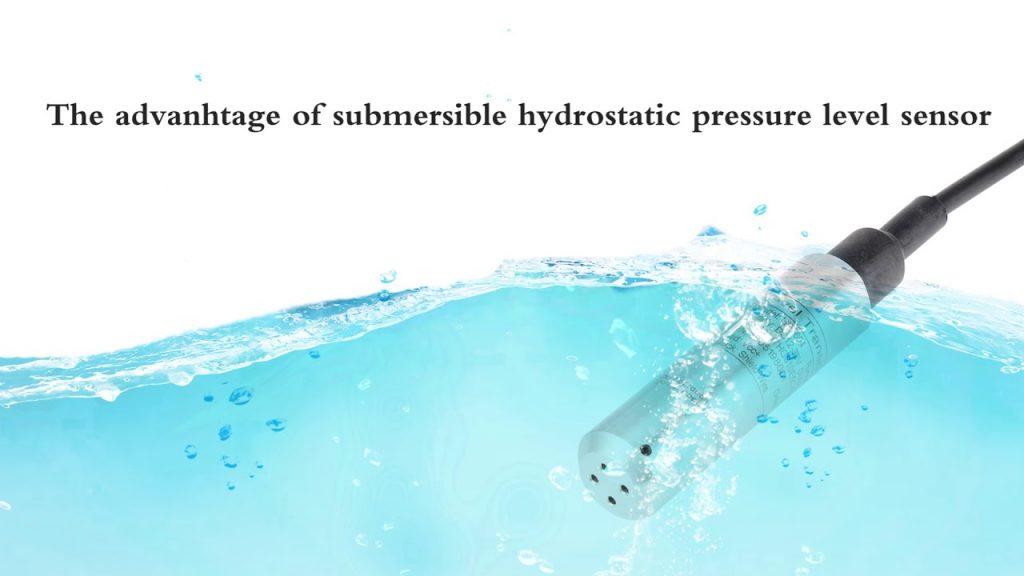 Cảm biến mực nước bằng nguyên lý áp suất