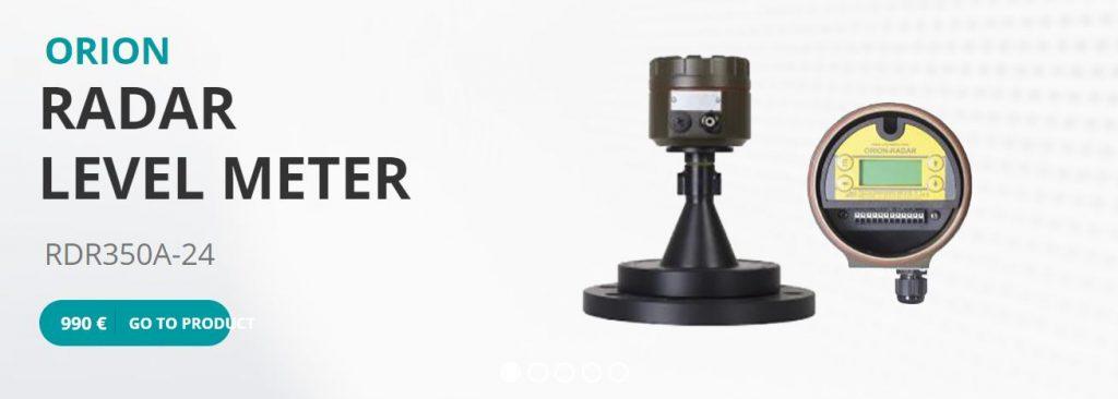 Cảm biến đo mưc radar của hãng Orion