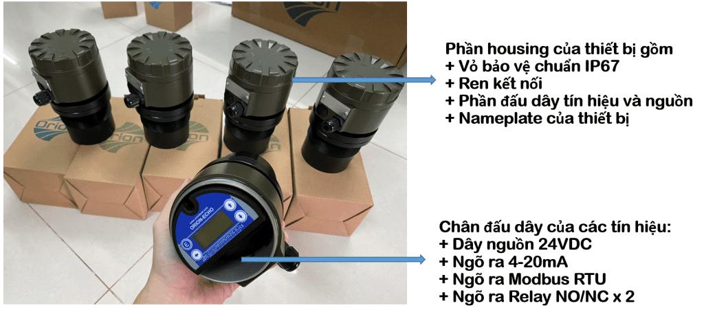 Thông số cảm biến ECH306