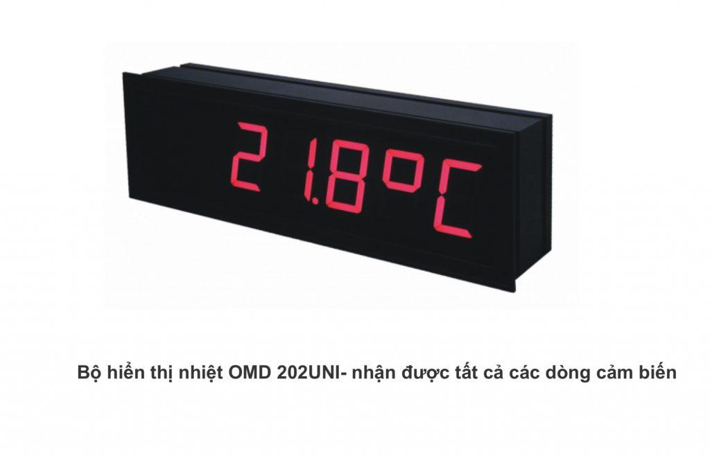 Bộ hiển thị nhiệt độ OMD 202UNI