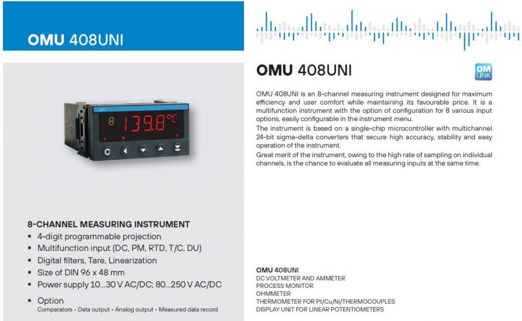 Bộ điều khiển OMU408UNI