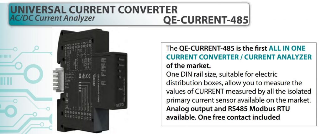 Bộ chuyển dòng QE-current-485