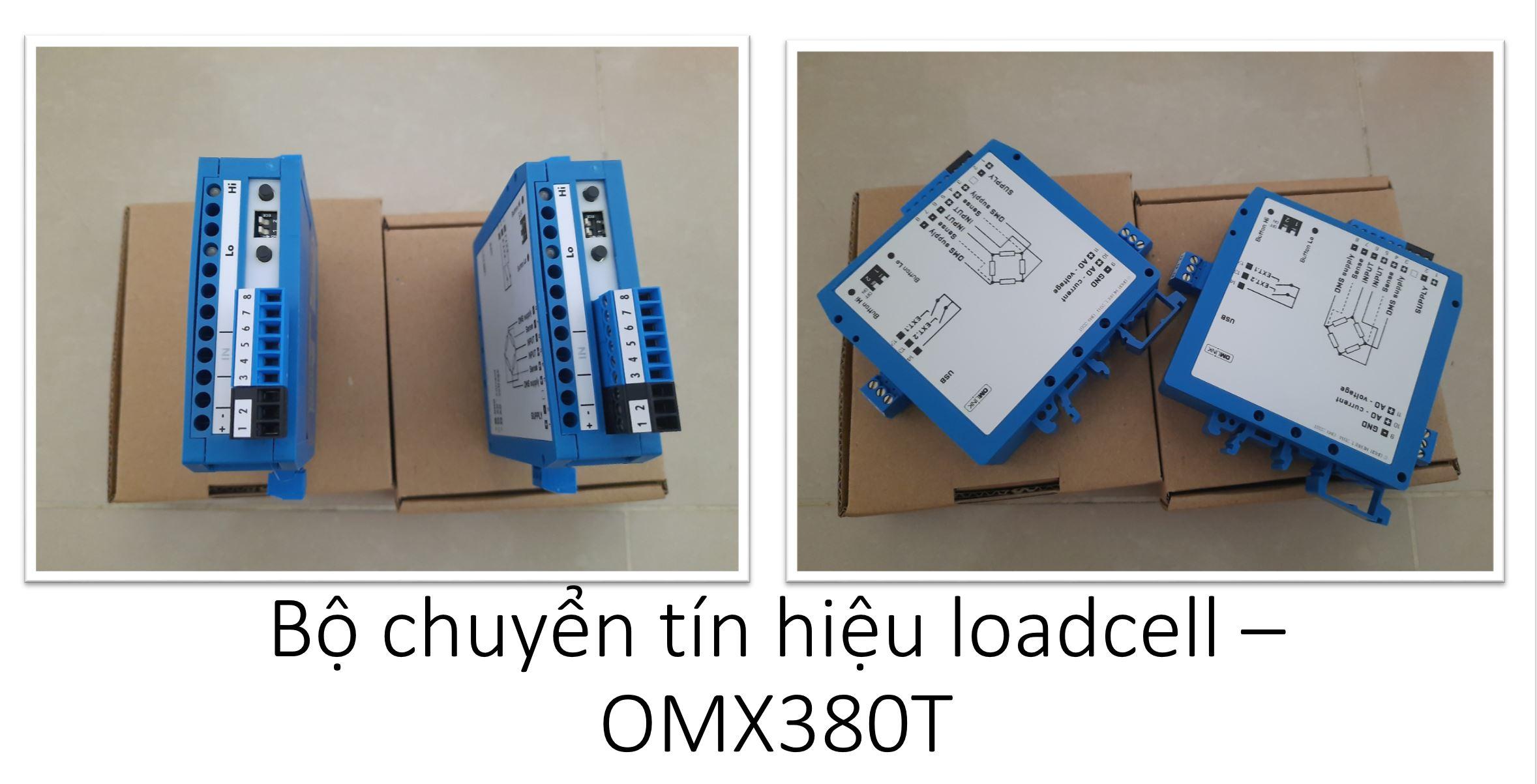 Bộ chuyển tín hiệu loadcell - OMX380T
