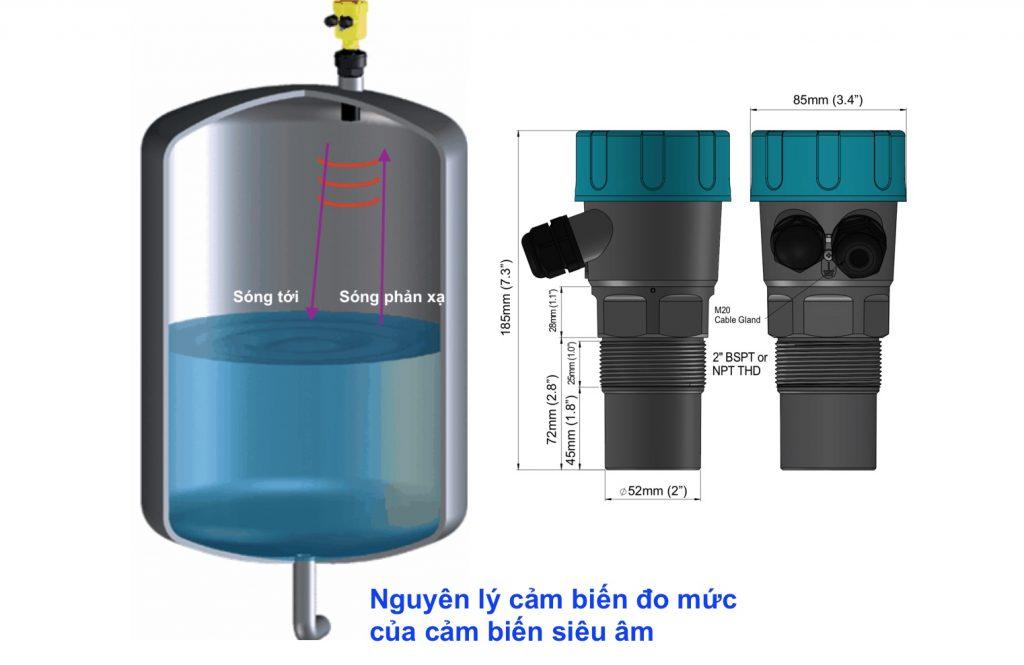 Cảm biến đo nước trong bồn