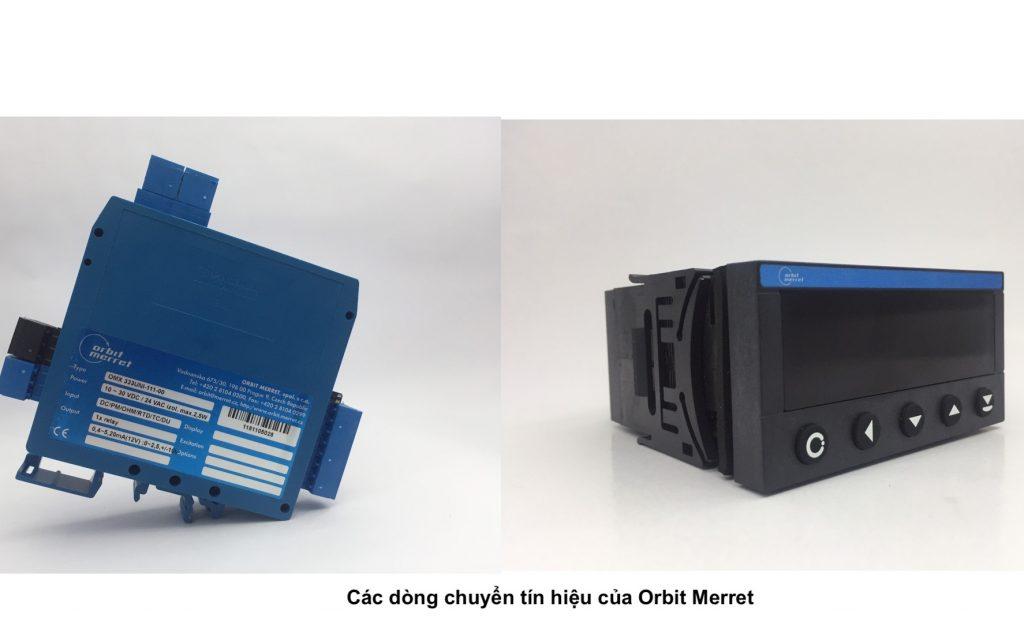 Các dòng chuyển đổi dòng điện và điên áp của Orbit Merret