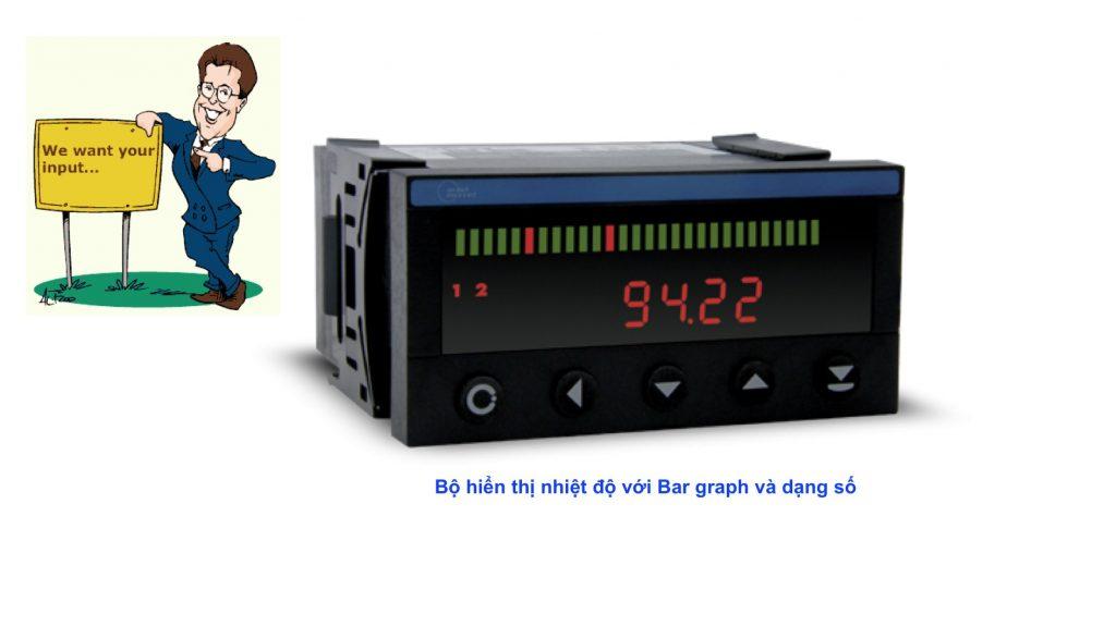 OMB402UNI - Bộ hiển thị có bar graph