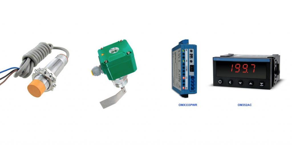 Các thiết bị công nghiệp với ngõ ra relay dòng nhỏ
