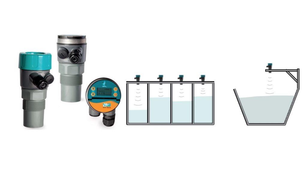 Cảm biến đo mức nước nhiềy dãy đo