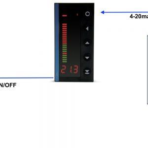 Ứng dụng bộ hiển thị và điều khiển mưc nước