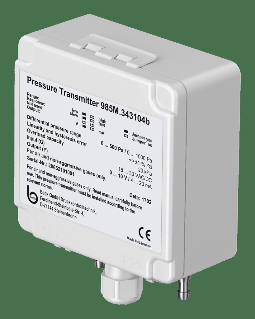 Cảm biến đo chênh áp không khí