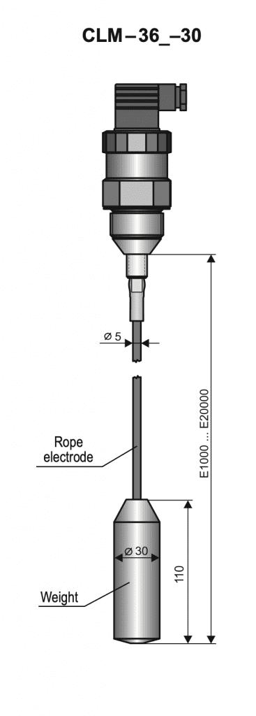 Cảm biến đo mức CLM-36-30