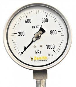 Đơn vị kpa trên đồng hồ đo áp