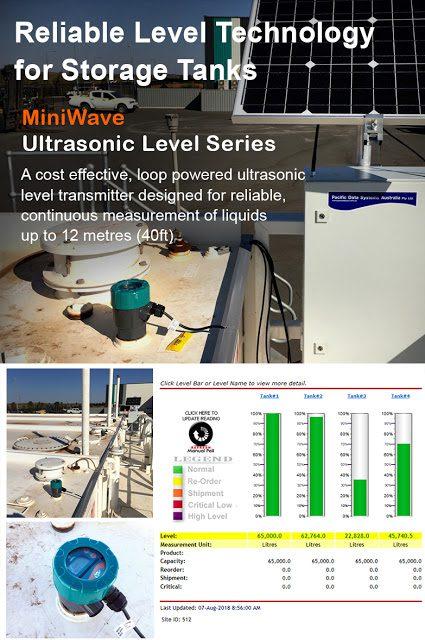 Cảm biến siêu giám sát tank chứa chất lỏng