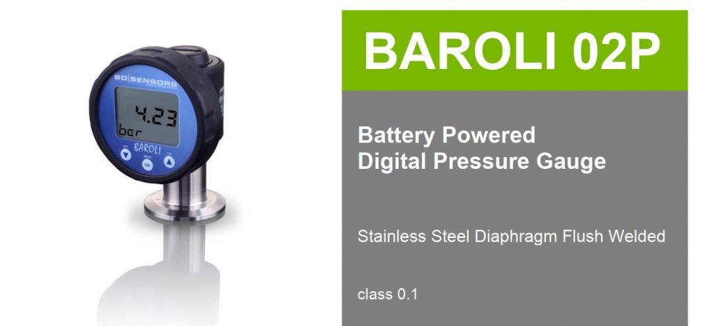 Đồng hồ điện tử Baroli 02P