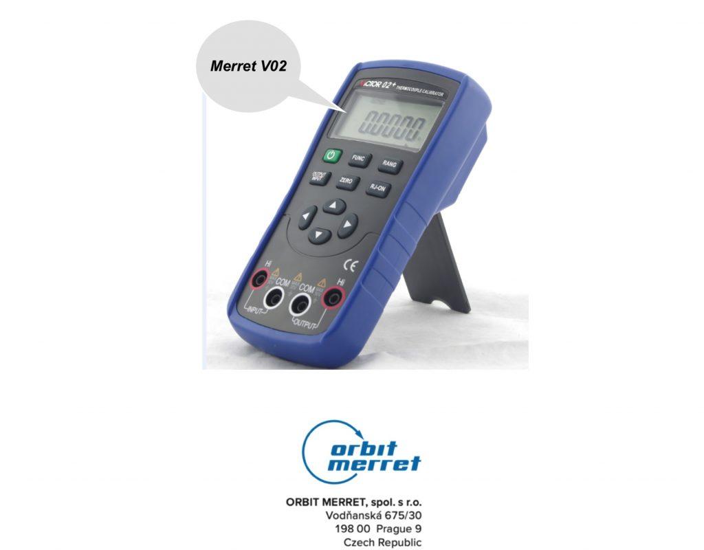 Đồng hồ đo can nhiệt Merret V02