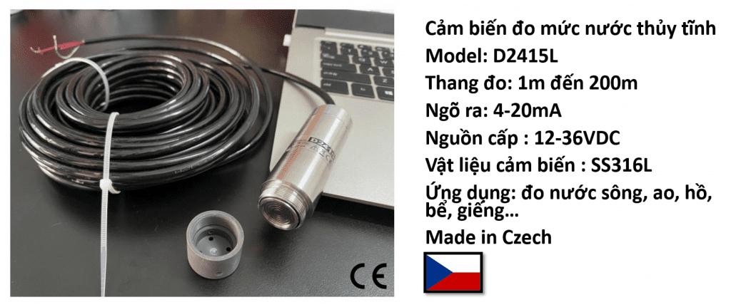 Cảm biến đo mức D2415L hãng JSP