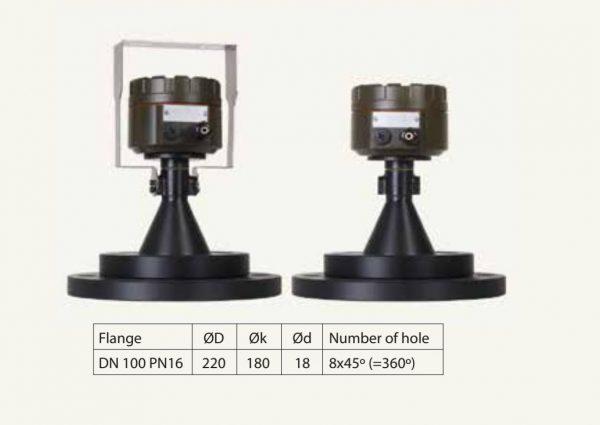 Cảm biến đo mức radar