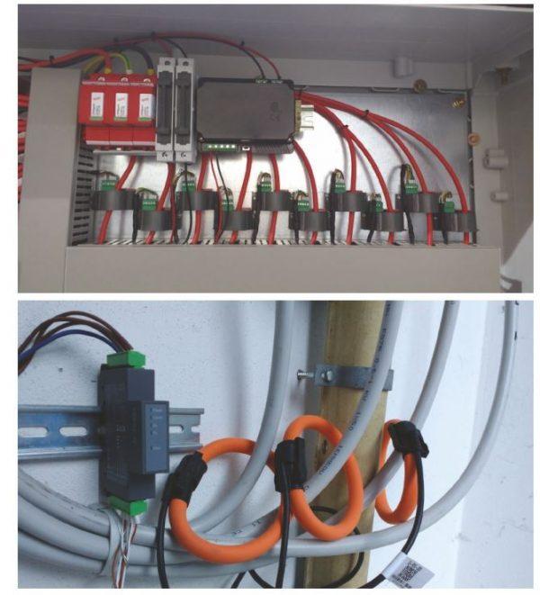 Lắp biến dòng trong tủ điện