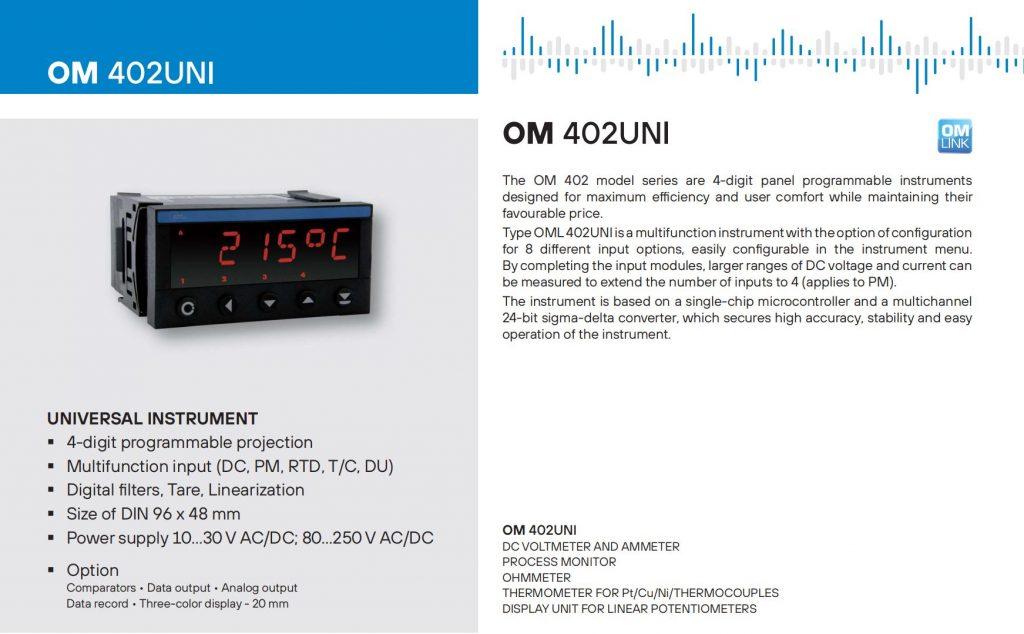Bộ hiển thị OM402UNI
