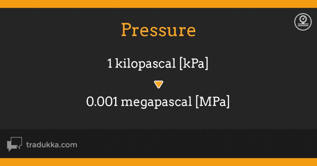 Đổi đơn vị áp suất thế nào