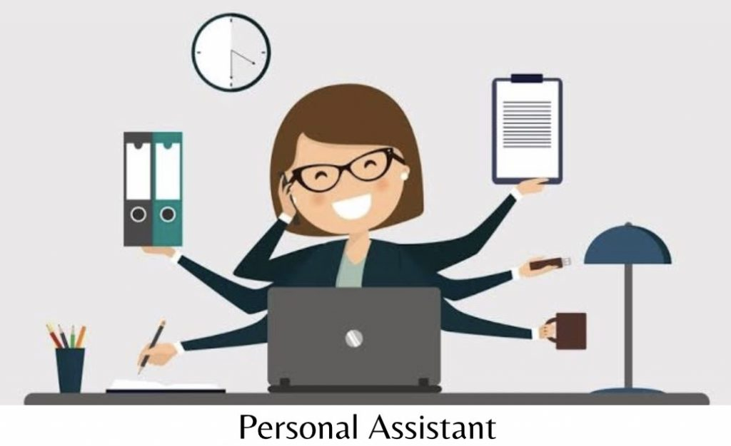 Personal Assistant = PA
