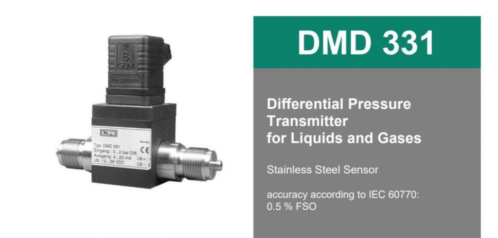 Cảm biến chênh áp DMD 331