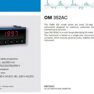 Bộ chuyển OM352AC Orbit Merret
