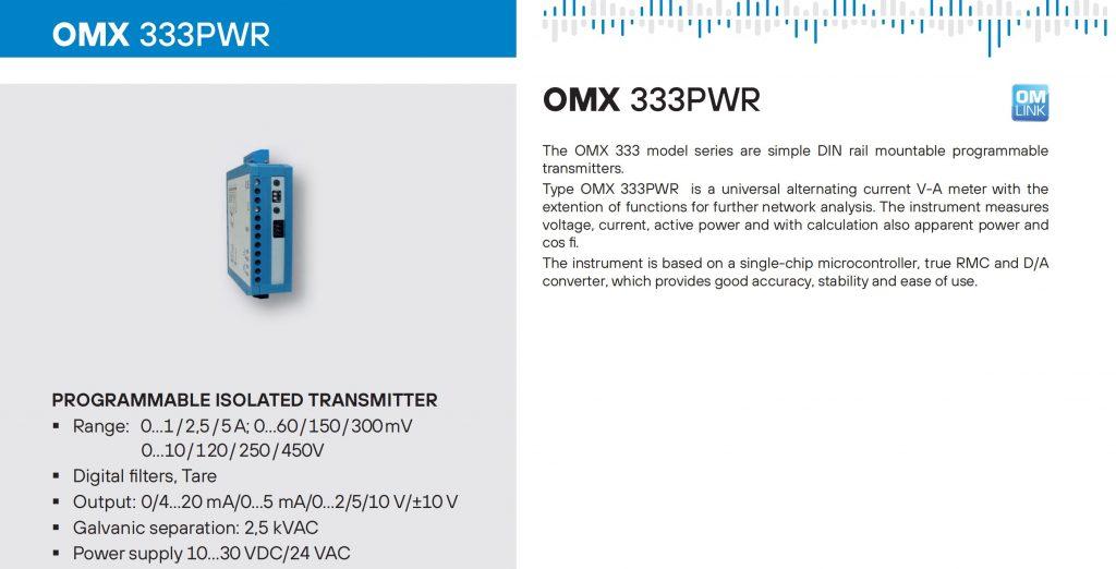 Bộ chuyển tín hiệu OMX333PWR