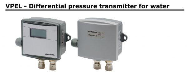 Cảm biến đo chênh áp nước