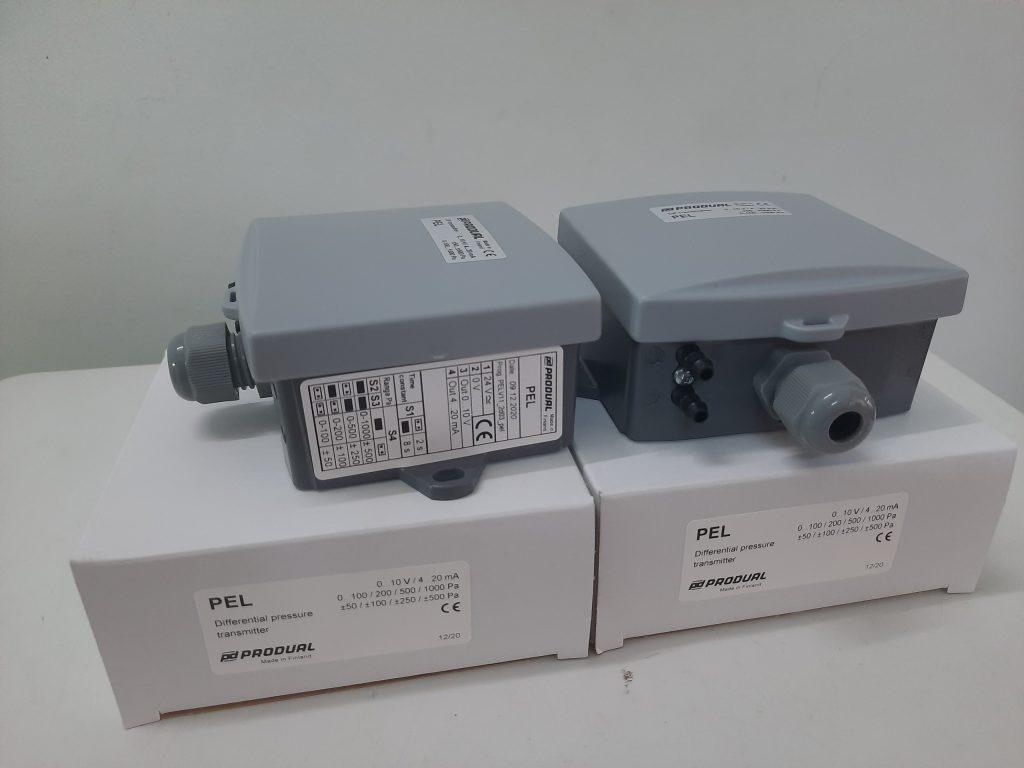 Cảm biến đo chênh áp khí PEL của Produal