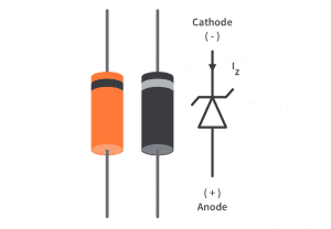 Zener diode ảnh thực tế