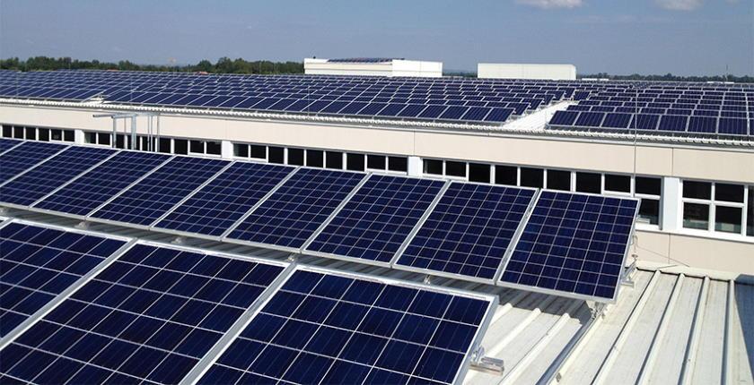 Điện mặt trời tạo ra điện DC