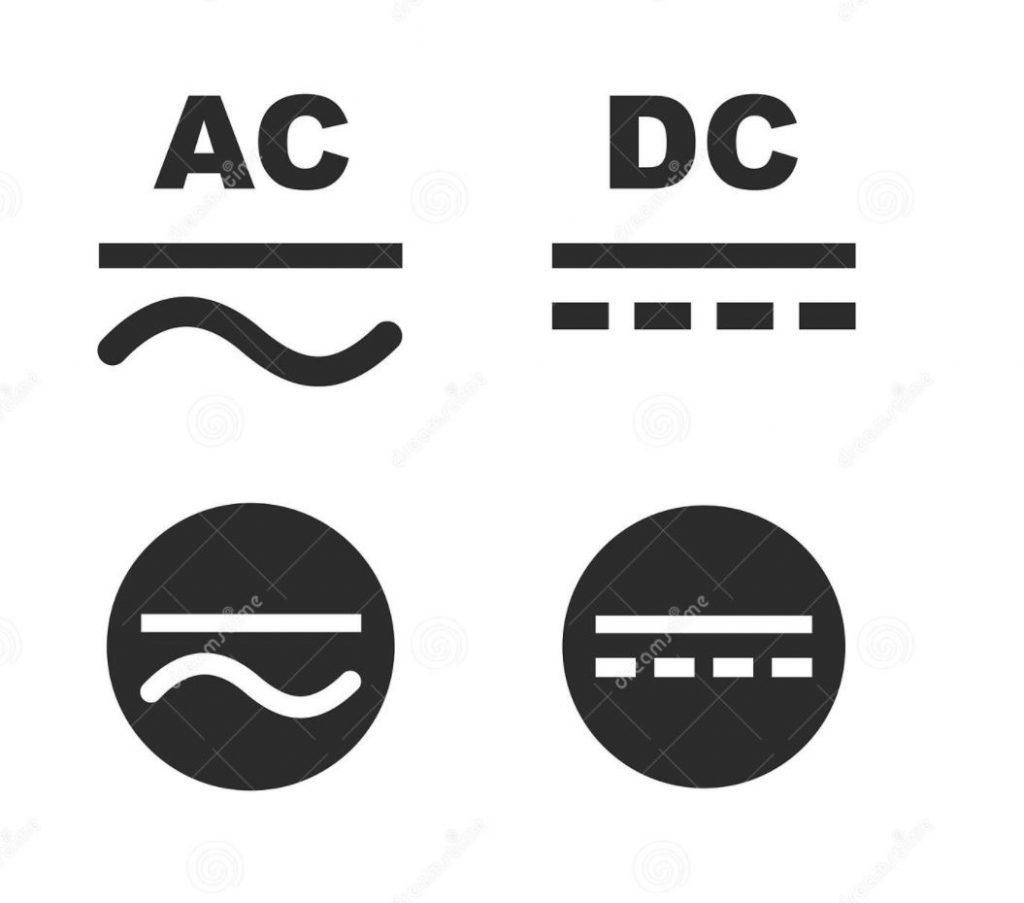 Ký hiệu điện AC và DC