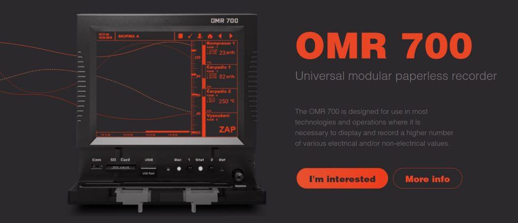 OMR700 bộ đọc đa kênh và ghi