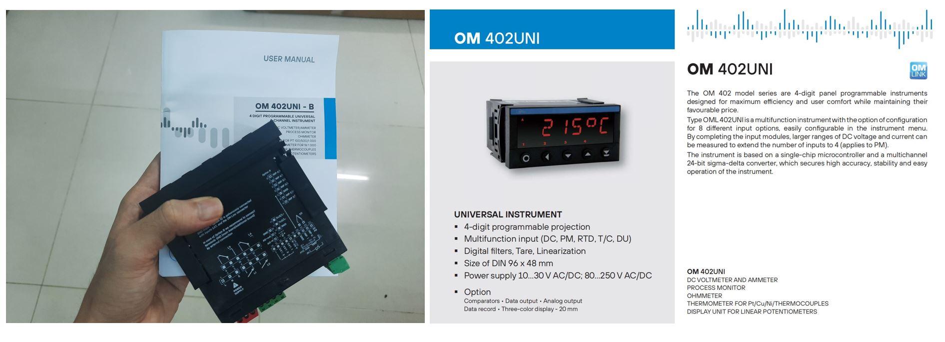 Bộ đọc OM402UNI-1B2